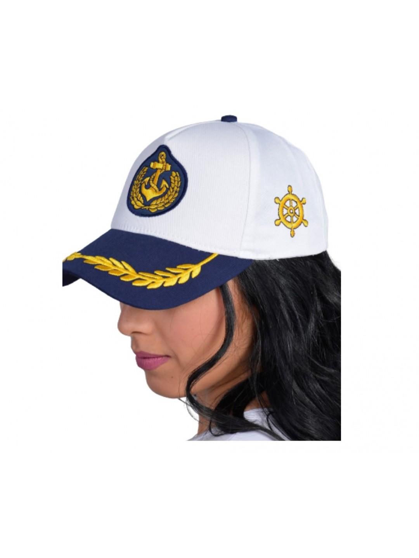 Denizci Kaptan Şapkası