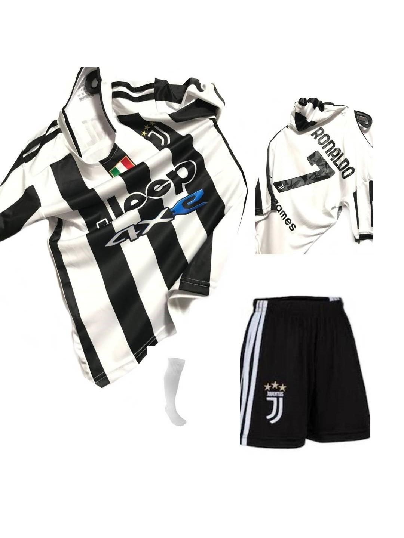 Mugees Juventus Ronaldo Çocuk Futbol Forma Takımı Çorap Hediyeli Mg1485ny